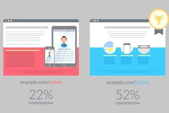 split testing with visual website optimizer